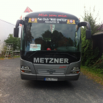 Vereins Bus ! Red United Altendorf !